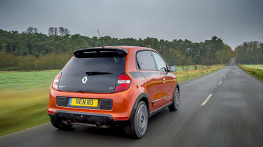 Renault Twingo GT - rear tracking