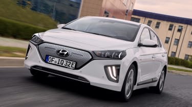 Hyundai Ioniq Electric - front action
