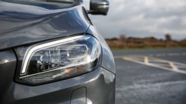 Mercedes X-Class review - headlight