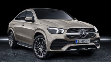 Mercedes GLE Coupe - front 3/4 static
