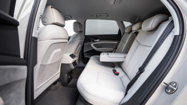 Audi e-tron - back seats