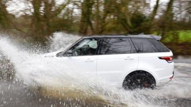 Range Rover Sport Long-term - fording