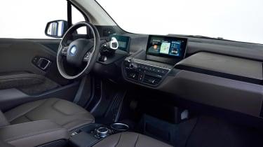 BMW i3s - interior
