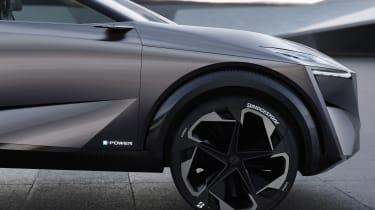 Nissan IMQ concept - wheel