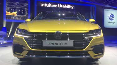 Volkswagen Arteon official - R-Line Geneva front
