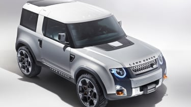 Land Rover Defender DC100 - top