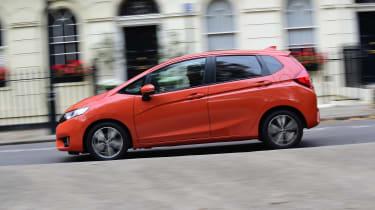 Honda Jazz long-term first report - side