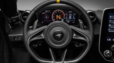 McLaren Senna Carbon Theme - steering wheel