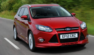 Ford Focus 1.6 EcoBoost Zetec S Estate front action