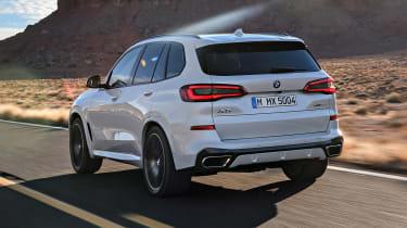 BMW X5 - rear