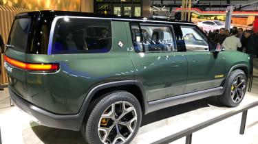 Rivian R1S - LA Motor Show - static rear
