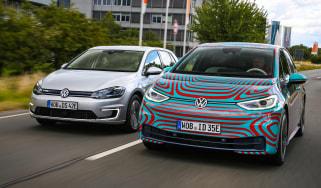 Volkswagen ID.3 vs Volkswagen e-Golf - header