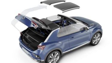 VW T-ROC concept 2014 roof