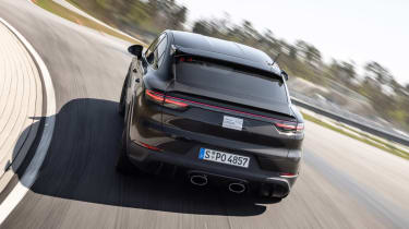 Porsche Cayenne Coupe prototype - rear tracking