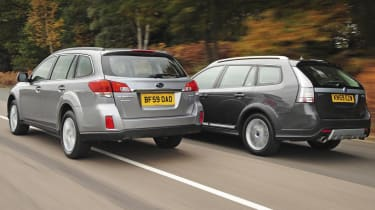 Subaru Outback Vs Saab 9-3X