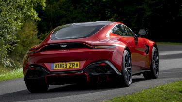Aston Martin Vantage AMR - rear action