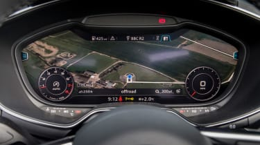 Audi TT Roadster 180 2016 - virtual cockpit