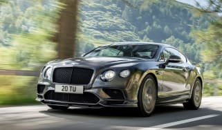 Bentley Continental Supersports 2017 - official front tracking
