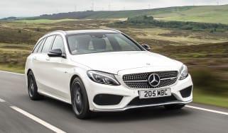 Mercedes-AMG C 43 Estate 2016 - front tracking