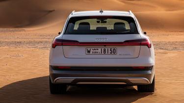 Audi e-tron - full rear
