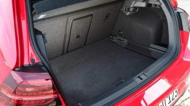 Volkswagen Golf GTI 2017 facelift red - boot