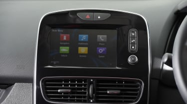 Renault Clio - infotainment screen