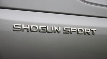 Mitsubishi Shogun Sport badge