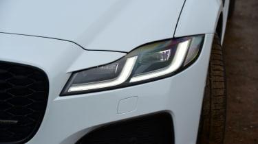 Jaguar XF facelift - front light