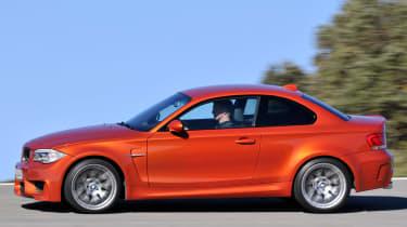 BMW 1 Series M Coupe profile