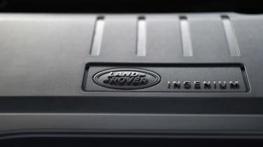 Land Rover Discovery Sport - engine detail