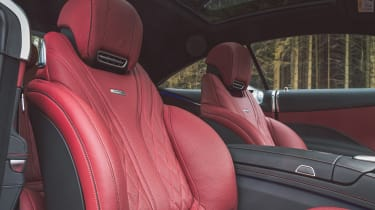Mercedes-AMG S 63 Coupe - front seats
