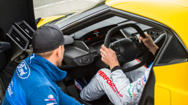 Ford GT Norway road trip - race briefing