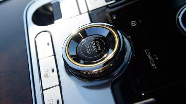 Bentley Continental GT Convertible - start/stop button