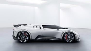 Bugatti Centodieci - side