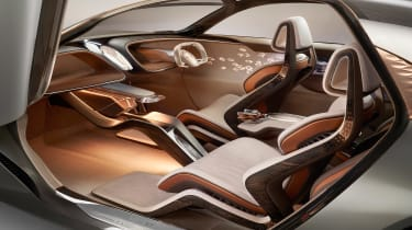 Bentley EXP 100 GT concept - dash
