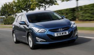 Hyundai i40 Tourer front tracking
