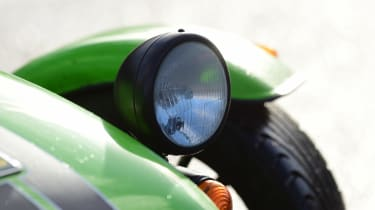 Long-term test review: Caterham 270S light detail