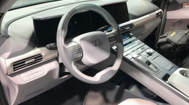 Hyundai Nexo interior reveal