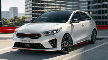 Kia Ceed GT - front