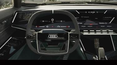 Audi skysphere concept - cabin dash