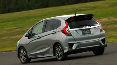 New Honda Jazz Hybrid rear