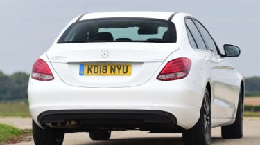 Mercedes C-Class - Rear Cornering