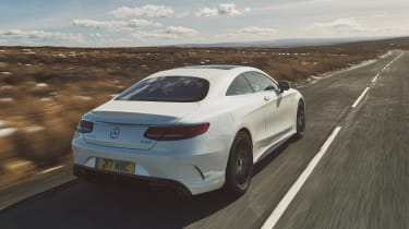 Mercedes-AMG S 63 Coupe - rear tracking
