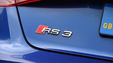 Audi RS3 badge