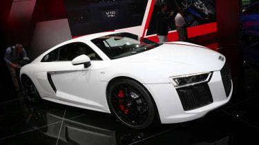 Frankfurt - Audi R8 V10 RWD - front quarter