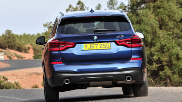 BMW X3 - rear action