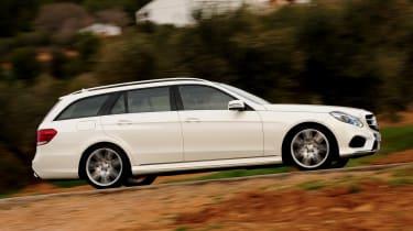 Mercedes E-Class Estate panning