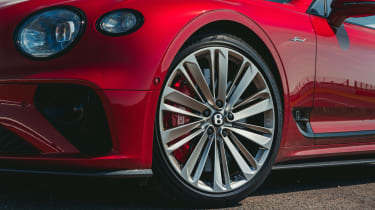 Bentley Continental GT Speed - wheel