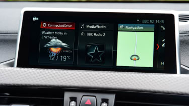bmw x2 infotainment