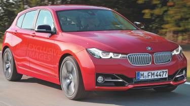BMW 1 Series rendering